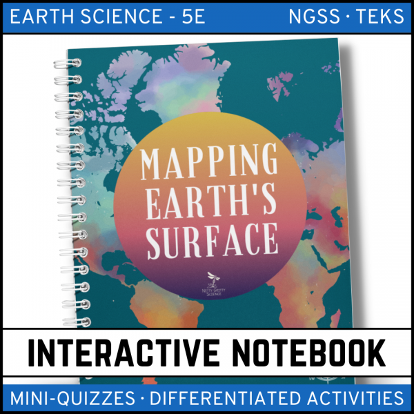 Intro to Earth Science 13 1 600x600 - Mapping Earth's Surface