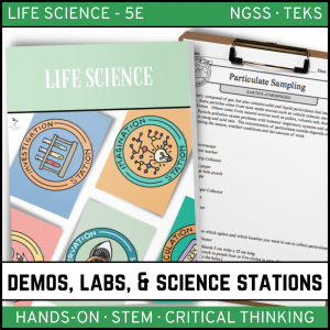Intro to Earth Science 16 300x300 - LIFE SCIENCE Demos, Labs & Science Stations BUNDLE