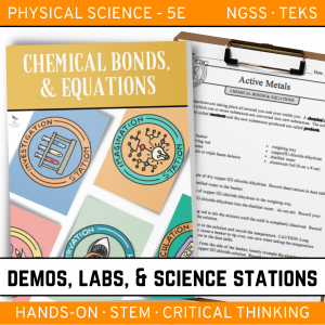 Intro to Earth Science 3 4 300x300 - CHEMICAL BONDS AND EQUATIONS - Demos, Labs and Science Stations