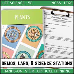 Intro to Earth Science 6 300x300 - Plants: Demos, Labs and Science Stations ~ 5E Inquiry