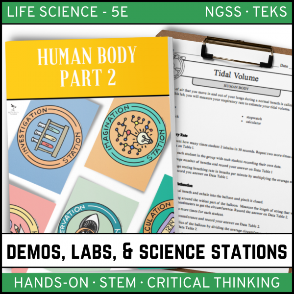 Intro to Earth Science 600x600 - HUMAN BODY Part 2 - Demos, Labs and Science Stations