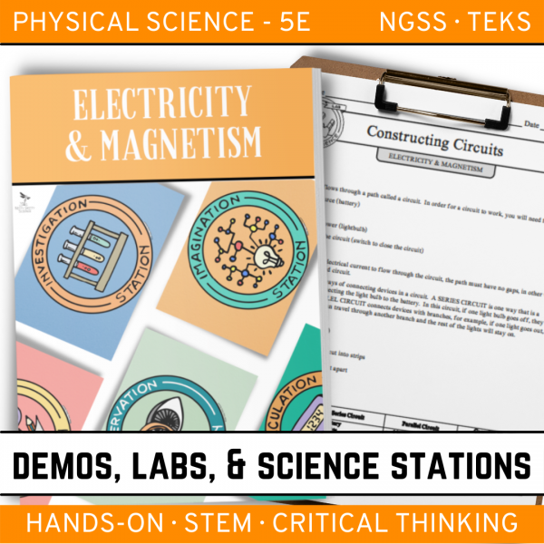 Intro to Earth Science 7 4 600x600 - ELECTRICITY & MAGNETISM - Demos, Lab and Science Stations