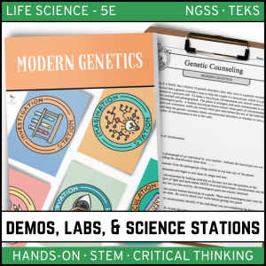 Intro to Earth Science 8 300x300 - MODERN GENETICS - Demos, Labs and Science Stations