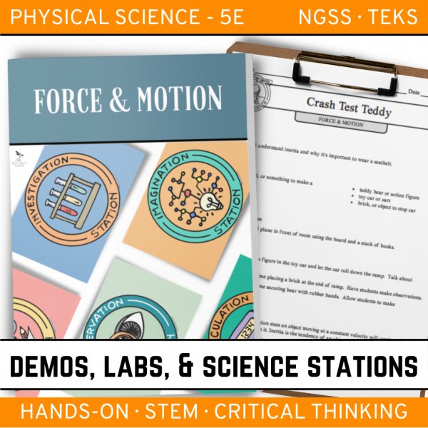 Intro to Earth Science 9 4 600x600 - FORCE AND MOTION - Demos, Lab and Science Stations