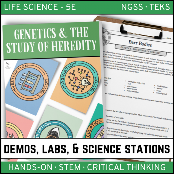 Intro to Earth Science 9 600x600 - GENETICS: THE SCIENCE OF HEREDITY - Demos, Labs and Science Stations