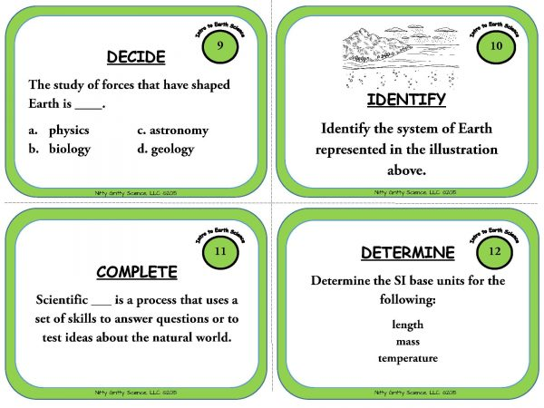 Intro to Earth Science Page 05 600x450 - Intro to Earth Science: Earth Science Task Cards