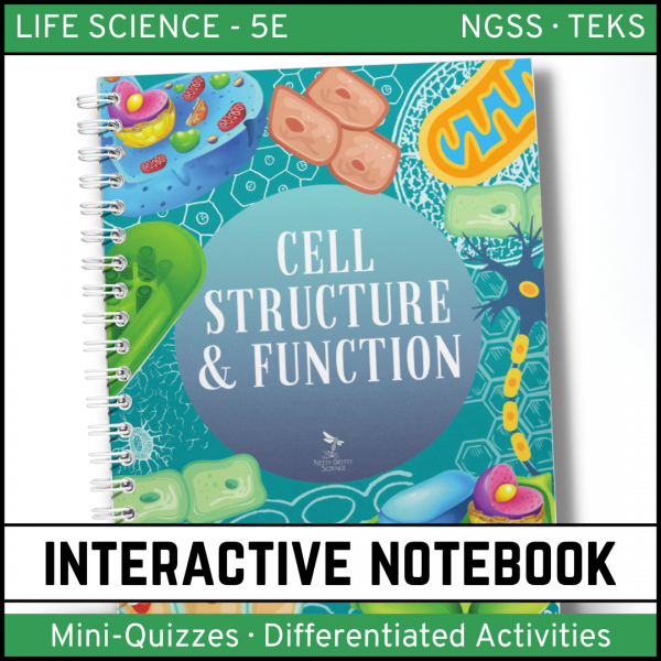 Intro to Life Science 14 600x600 - Cell Structure and Function