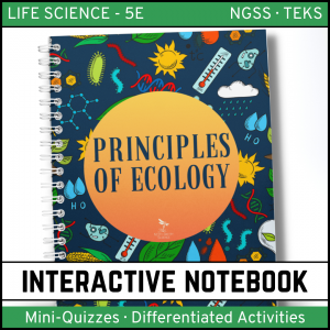 Intro to Life Science 16 300x300 - Principles of Ecology: Life Science PowerPoint, Notes and Test ~ EDITABLE!