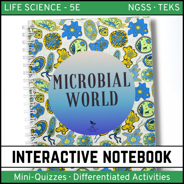 Intro to Life Science 9 600x600 - The Microbial World