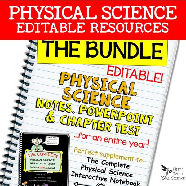 LS Bundle 600x600 - Physical Science Curriculum – Ultimate Bundle v 2.0 ~ NO LABS