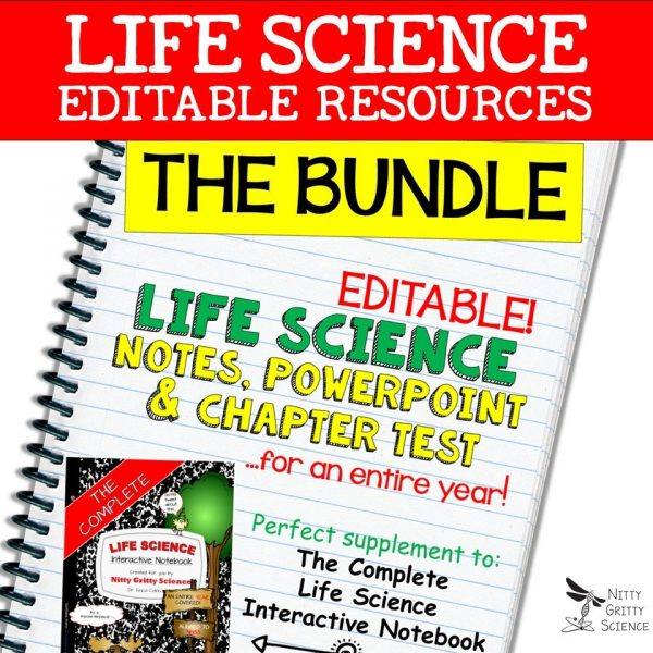 LS Bundle Cover 600x600 - Life Science Curriculum – Ultimate Bundle v 2.0 ~ NO LABS