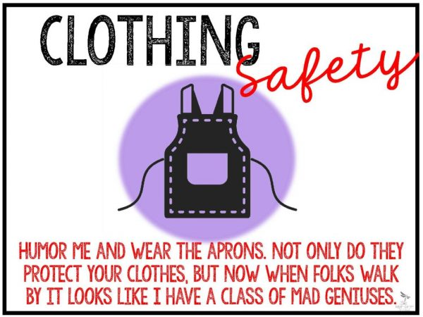 Lab Safety Posters Page 20 600x450 - LAB SAFETY POSTERS - Secondary Science (humor)