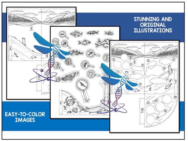 Lake Preview 2 600x450 - Lake Biome Model - 3D Model - Biome Project