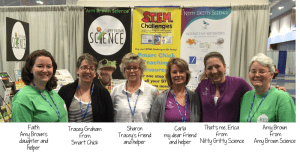 NSTA conf with names 300x155 - Taking Nitty Gritty Science to Nashville!