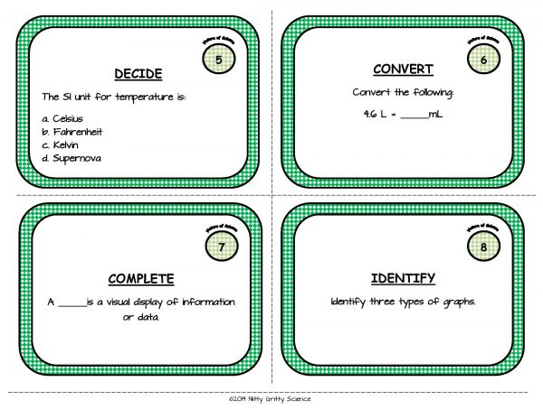 Nature of Science Page 04 600x464 - Nature of Science: Task Cards