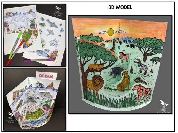 Ocean Preview 1 600x450 - Ocean Biome Model - 3D Model - Biome Project