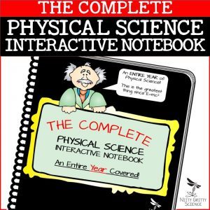 PS COMPLETE 1 300x300 - Physical Science Interactive Notebook - The Complete Bundle for an Entire Year