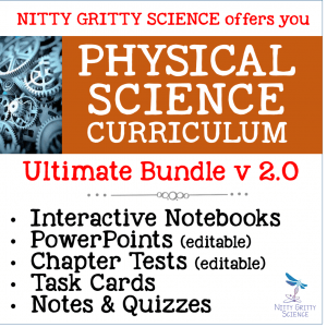 PS Ultimate Bundle 300x300 - Physical Science Curriculum – Ultimate Bundle v 2.0 ~ NO LABS