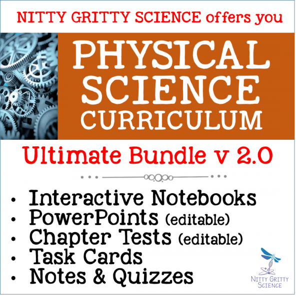 PS Ultimate Bundle 600x595 - Physical Science Curriculum – Ultimate Bundle v 2.0 ~ NO LABS