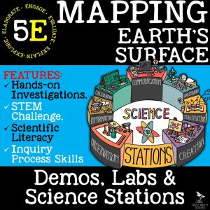 Preview Mapping Earths Surface Page 1 300x300 - MAPPING EARTH'S SURFACE - Demos, Lab and Science Stations