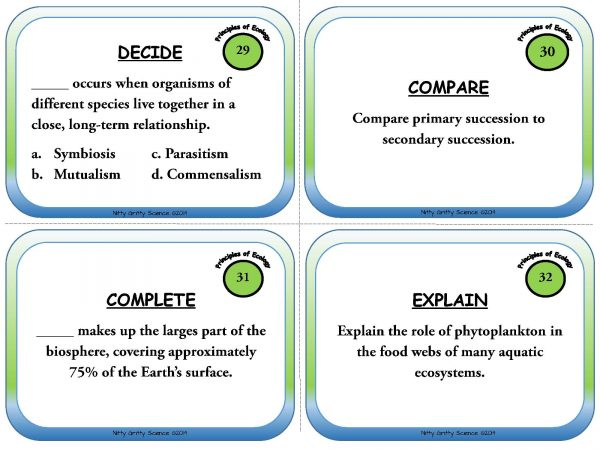 Principles of Ecology Page 10 600x450 - Task Cards - Principles of Ecology