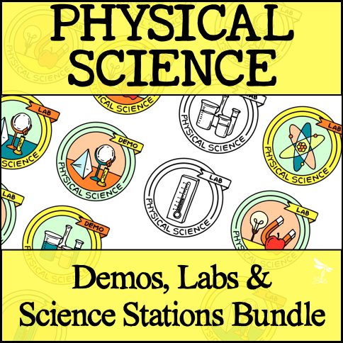Sci Station Bundle 3 - PHYSICAL SCIENCE CURRICULUM - 5 E Model