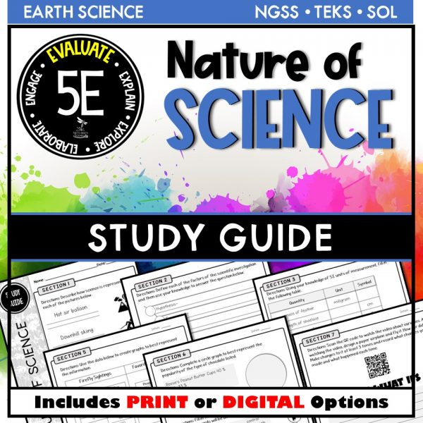 Slide1 11 600x600 - PHYSICAL SCIENCE STUDY GUIDE BUNDLE - 5E / DISTANCE LEARNING