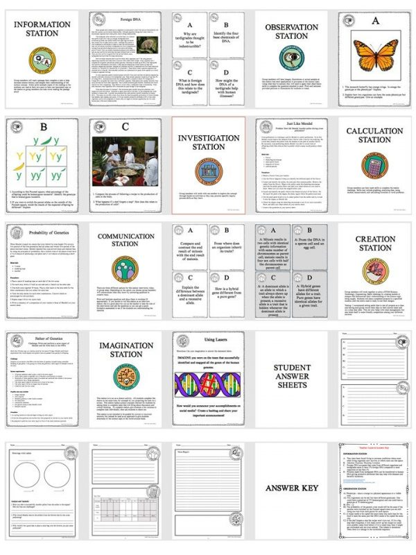 Slide3 2 600x800 - GENETICS: THE SCIENCE OF HEREDITY - Demos, Labs and Science Stations