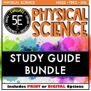 Slide6 7 300x300 - PHYSICAL SCIENCE STUDY GUIDE BUNDLE - 5E / DISTANCE LEARNING (Copy)