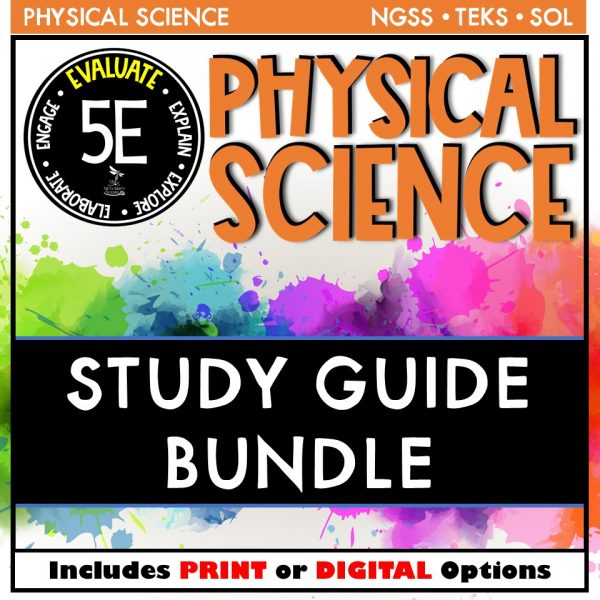 Slide6 7 600x600 - PHYSICAL SCIENCE STUDY GUIDE BUNDLE - 5E / DISTANCE LEARNING