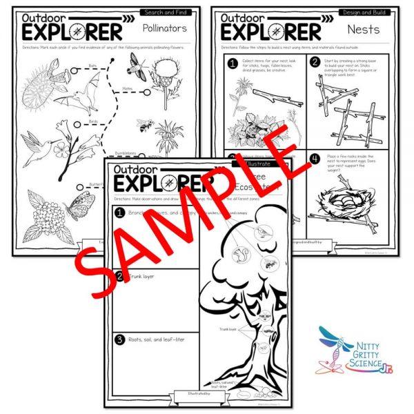 Spring Preview 2 600x600 - Outdoor Explorer - SPRING Activities