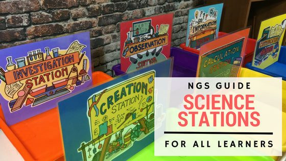 Implementing Successful Science Stations for ALL Learners