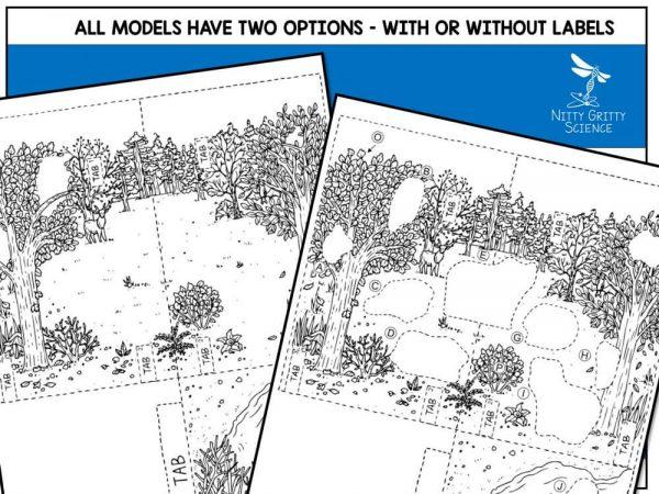 Taiga Preview 5 600x450 - Taiga Biome Model - 3D Model - Biome Project