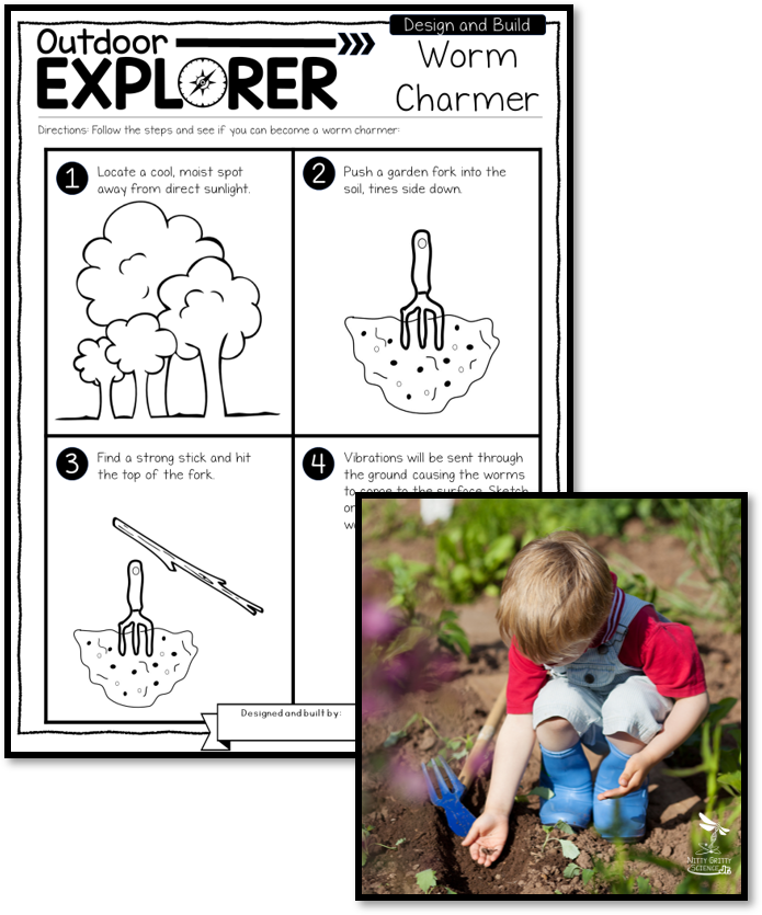 Worm Charmer with Pic - Outdoor Explorer – Science and Nature Activities for Elementary Students