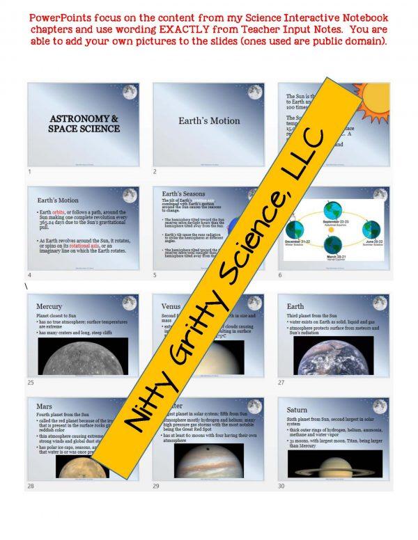 demoEarthScienceNotesChapterTestAstronomyandSpaceScienceEDITABLE1806609 Page 5 600x776 - Astronomy and Space Science: Earth Science Notes, PowerPoint & Test ~ EDITABLE!