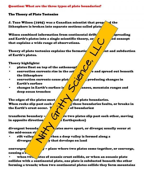demoEarthScienceNotesChapterTestPlateTectonicsEDITABLE1525350 Page 4 600x776 - Plate Tectonics: Earth Science Notes, PowerPoint & Chapter Test ~ EDITABLE!