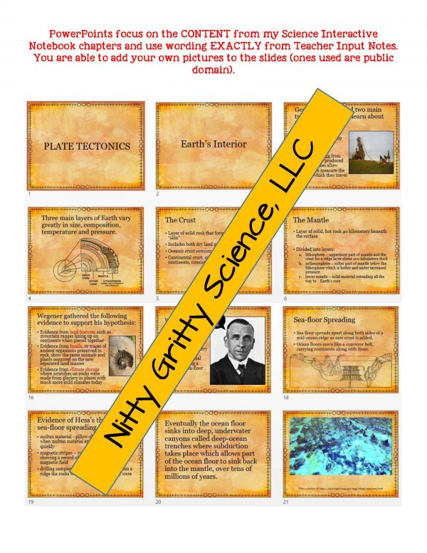 demoEarthScienceNotesChapterTestPlateTectonicsEDITABLE1525350 Page 5 600x776 - Plate Tectonics: Earth Science Notes, PowerPoint & Chapter Test ~ EDITABLE!