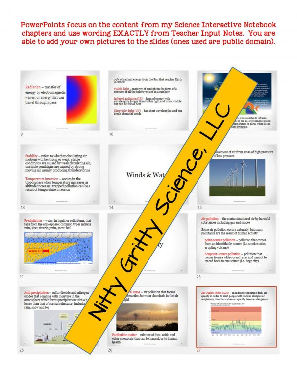demoEarthSciencePowerPointNotesTestEarthsAtmosphereEDITABLE2290257 Page 5 600x776 - Earth's Atmosphere: Earth Science PowerPoint, Notes & Test ~ EDITABLE!