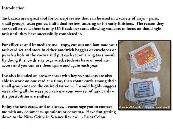 demoEarthScienceTaskCardBUNDLE2093572 1 Page 02 600x450 - Earth Science Task Card BUNDLE