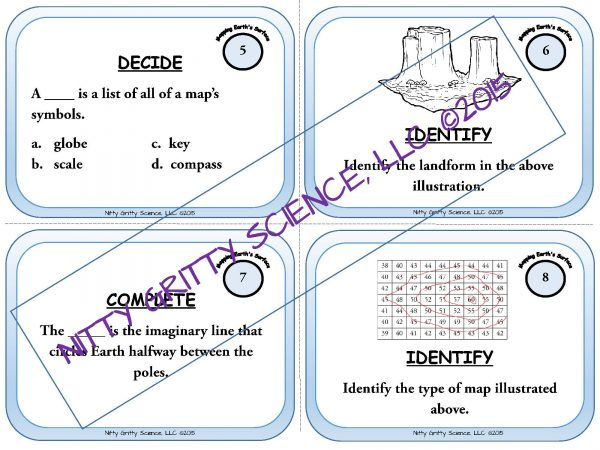 demoEarthScienceTaskCardBUNDLE2093572 1 Page 05 600x450 - Earth Science Task Card BUNDLE