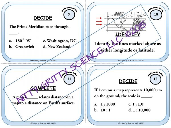 demoEarthScienceTaskCardBUNDLE2093572 1 Page 06 600x450 - Earth Science Task Card BUNDLE