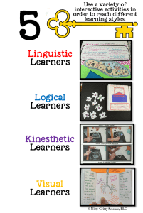 key 5a 201x300 - Keys to a Successful Science Interactive Notebook