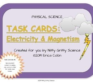 original 1149898 1 300x270 - Electricity and Magnetism: Physical Science Task Cards