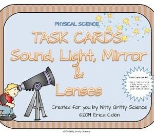 original 1166513 1 300x270 - Sound, Light, Mirrors and Lenses: Physical Science Task Cards