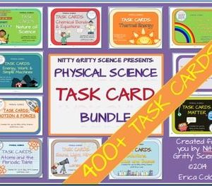 original 1240678 1 300x264 - Physical Science Task Card Bundle - 400+ task cards!