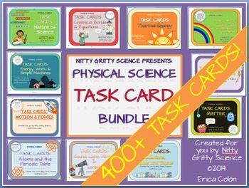 original 1240678 1 - Physical Science Task Card Bundle - 400+ task cards!
