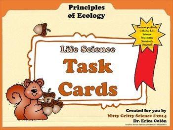 original 1448854 1 - Task Cards - Principles of Ecology