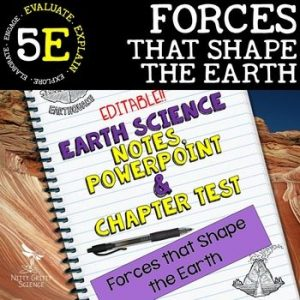 original 1595277 1 300x300 - Forces that Shape Earth: Earth Science Notes, PowerPoint & Test ~ EDITABLE!