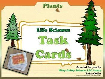 original 1687906 1 - Plants - Life Science Task Cards