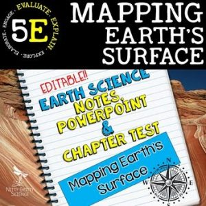 original 2118428 1 300x300 - Mapping Earth's Surface: Earth Science Notes, PowerPoint & Test ~ EDITABLE!
